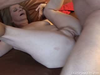 tits, cougar, old