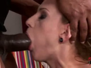 Lascivious Olga Barz Receives Her Pussy Fucked Hard From Behind By A Massive Black Cock