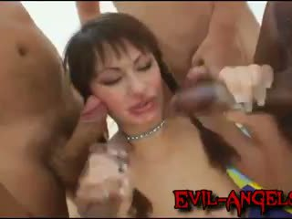 double penetration, monster cock, gang bang, double anal