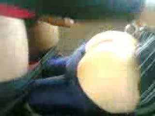 Arab टीन गड़बड़ में कार के बाद स्कूल वीडियो