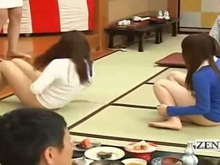 Subtitled bottomless jepang embarrassing group game