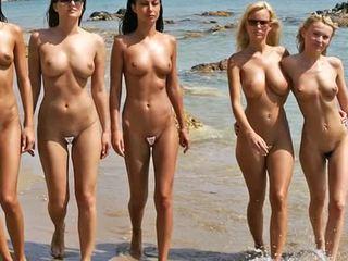 나체상 바닷가 유행 표시 2