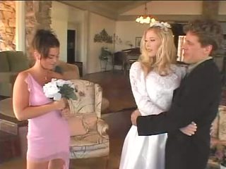 Bride makes her maid of honor happy again