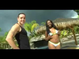 White man fucks busty ebony girl #13