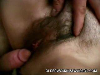 hardcore sex, mature, aged lady