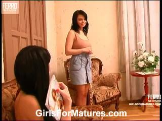 Rosaline And Gertie Mature Lesbo Vid