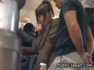 日本の, 野外プレイ, 盗撮, フェラチオ