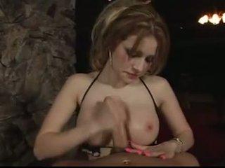 Slut Alexia Handjob