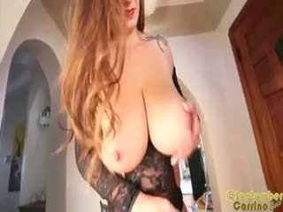 September Carrino Slips Out Of Her Lace