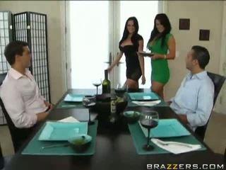 Seksi seks empat orang dengan audrey bitoni dan savannah stern video
