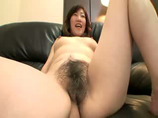 Her asian pussy needs some toy play before she can take his cock