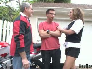Rebecca bardoux låt kåta far och son fan henne mun