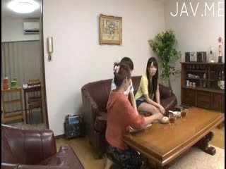 brunette check, full japanese great, ideal cumshot great