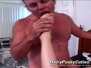 Stupid Amateur Babe's Hairy Cunt Fucked By A Man On Drugs