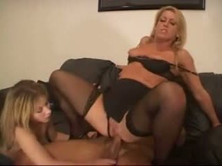 Wife and mad fucks with lucky man