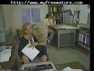 Lili Marlene Fucked In The Office mature mature porn granny old cumshots cumshot