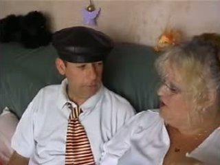 BBW Granny School Mistress