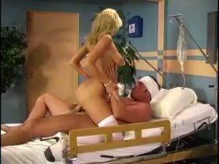 Sammi rhodes acting as blonde nurse