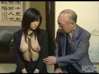 섹시한 아시아의 학교 소녀