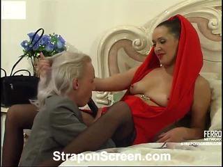 Helena và randolph mindblowing strapon phim