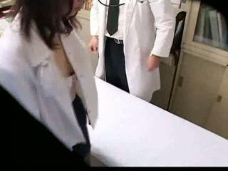 avsugning, hiddencam, fingersättning, läkare