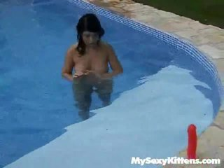 Teen Cutie At Tthis Chab Pool