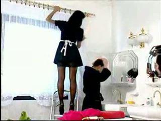 Slutty 女傭 anita 金發
