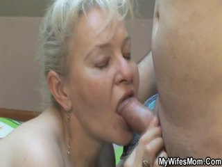 Hot Granny Want To Shag With Son Inside Law