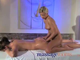 Massaž rooms amjagaz rub for her orgazm with masseuse