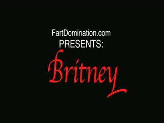 Britney Stevens Farts on Her Ass Servant