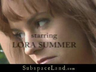 Lora ist trained bis einreichen im die woods