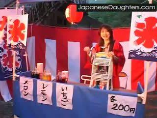 jaunas, japonijos, šiurkštus, dukra