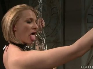 Katy Borman Tortured By Horny Hottie With Chain