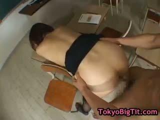 Hinano sakaki in heet trio part5