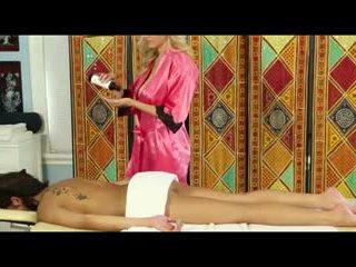 Hot full body massage..