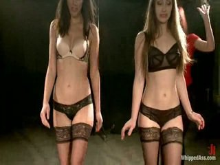 Two Underwear Models Have Punished And Shaged By Maitresse Madeline