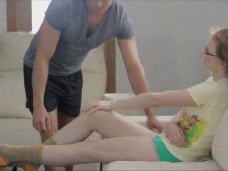 Sensual sex with teen Ksenija