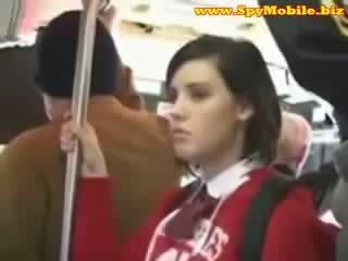 Cute Teen Schoolgirl Groped Abused