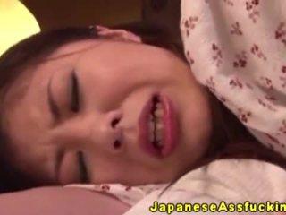 Aasia jaapani küpsemad sisse anaal mängima