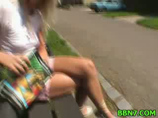 Public out doors doll chick sex hardcore Blowjob