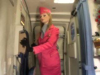 vienodas, gražus air hostesses labiausiai