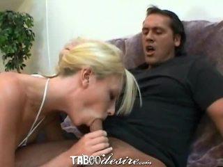 Keri sable tastes an older cock