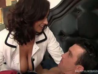 brunette movie, fun big dick mov, big boobs