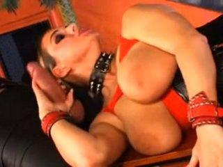 double penetration, big boobs, anal