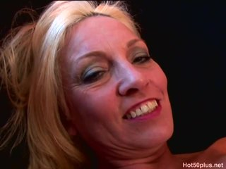 Great Clip With Lustful Blonde In A Real Sex Video