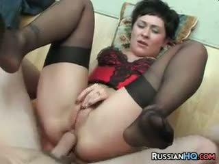 Російська матуся анал трахкав
