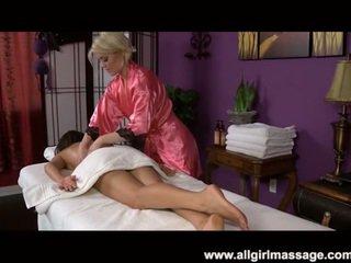 Ash Hollywood hot lesbian massage