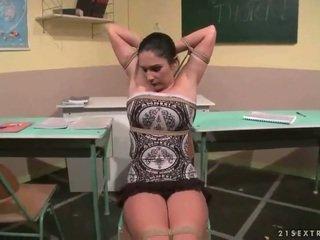 מורה punishing שלה סקסי סטודנט