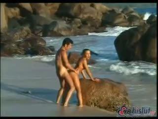 pārbaude doggystyle svaigs, karstās cum ideāls, pludmale hq