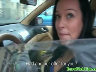 Flashing Taxi Girl Offered Cash For Sex